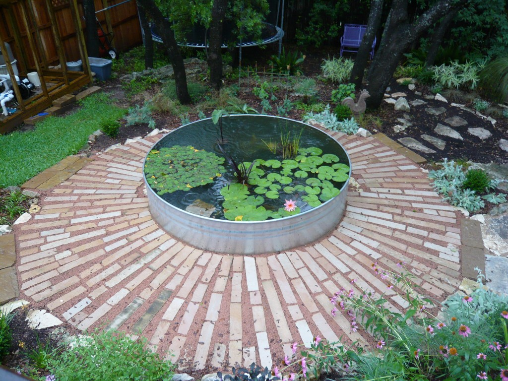 The germinatrix blog archive i am really digging this for Digging a garden pond