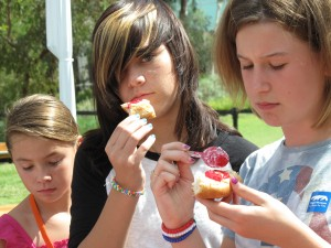 even cool, pouty teenagers can find the good in the gooey sweet stuff